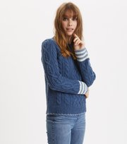Odd Molly - Majestic Sweater - DENIM BLUE