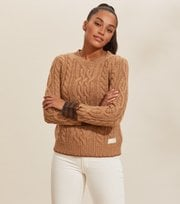Odd Molly - Majestic Sweater - CAMEL