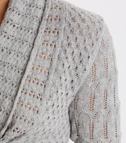 Odd Molly - can-can cardigan - LIGHT GREY