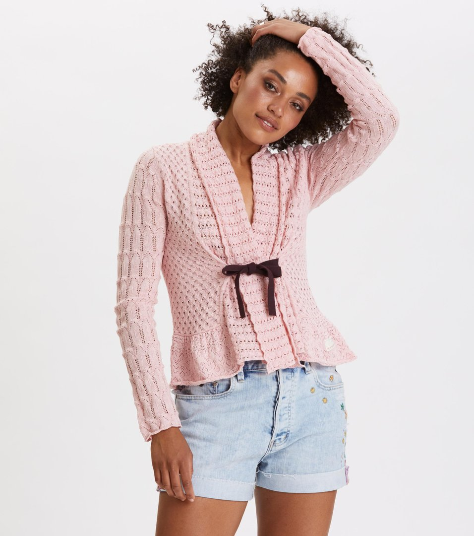 ba562072 Odd Molly - can-can cardigan - MID PINK