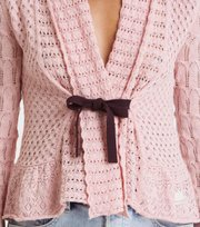 Odd Molly - Can-Can Cardigan - MID PINK