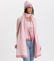 Odd Molly - New Favorite Everything Scarf - FAIRY PINK