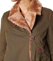 Odd Molly - cerro bonete long jacket - DARK MILITARY