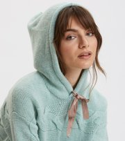 Odd Molly - Spun Dreams Hood Sweater - MISTY MINT