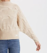 Odd Molly - Spun Dreams Sweater - LIGHT PORCELAIN