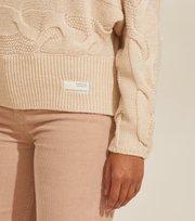 Odd Molly - Spun Dreams Sweater - LIGHT PORCELAIN