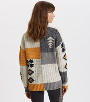 Odd Molly - Queen Of Chaos Sweater - SOFT GREY