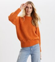 Odd Molly - Novelty Sweater - SUNSET ORANGE