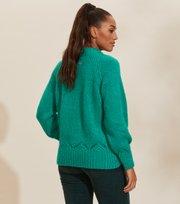 Odd Molly - Novelty Sweater - BRIGHT EMERALD