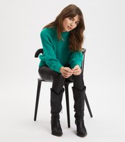 Odd Molly - Novelty Sweater - BRIGHT EMERALD