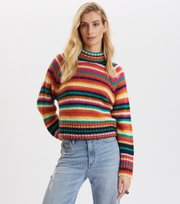 Novelty Stripe Sweater