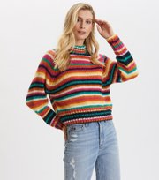 Odd Molly - Novelty Stripe Sweater - MULTI