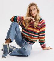 Odd Molly  - Novelty Stripe Sweater - MULTI