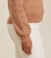 Odd Molly - Cool With Wool Sweater - CHOCOLATE CREAM