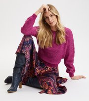 Odd Molly - Cool With Wool Pullover - FIREWORK FUCHSIA