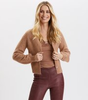 Odd Molly - Cool With Wool Cardigan - CHOCOLATE CREAM