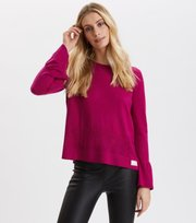 Odd Molly - Savagely Cute Sweater - FIREWORK FUCHSIA