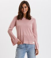 Odd Molly - Savagely Cute Sweater - SMOKE ROSE