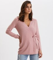 Odd Molly - Savagely Cute Cardigan - SMOKE ROSE