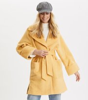 Odd Molly - Caught You Looking Coat - VINTAGE YELLOW MELANGE
