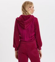 Odd Molly - Velouragenius Hood Jacket - FIREWORK FUCHSIA