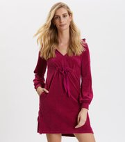 Odd Molly - Velouragenius Kleid - FIREWORK FUCHSIA