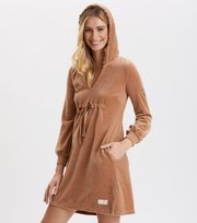 Odd Molly - Velouragenius Kleid - CHOCOLATE CREAM