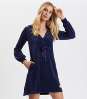 Odd Molly - Velouragenius Dress - NIGHT SKY BLUE