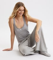 Odd Molly  - My Dearest One Tank Top - LIGHT GREY MELANGE