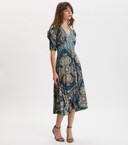 Odd Molly  - Insanely Right Long Dress - GREEN EMERALD