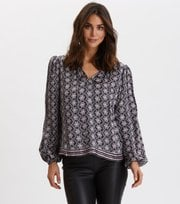 Odd Molly  - Insanely Right Blouse - ALMOST BLACK