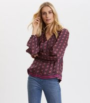 Odd Molly - Insanely Right Blouse - FIREWORK FUCHSIA