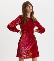 Odd Molly - Cherry Bomb Dress - FIREWORK FUCHSIA