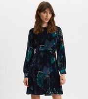 Odd Molly - Cherry Bomb Dress - NIGHT SKY BLUE