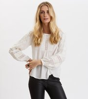 Odd Molly - Revolutionary Blouse - LIGHT CHALK