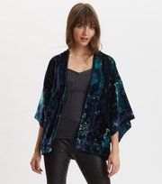 Odd Molly - Cherry Bomb Kimono - NIGHT SKY BLUE