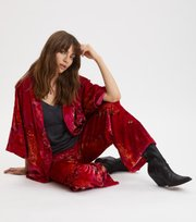 Odd Molly - Cherry Bomb Kimono - FIREWORK FUCHSIA