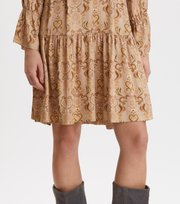 Odd Molly - Brilliant & Brave Short Dress - LIGHT TAUPE