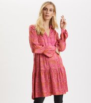 Odd Molly - Brilliant & Brave Short Dress - SPARKLING FUCHSIA