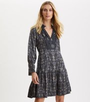 Odd Molly - Brilliant & Brave Short Dress - ASPHALT