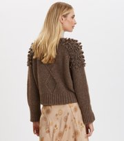 Odd Molly - Nice To Hear Applause Cardigan - FRENCH BROWN MELANGE