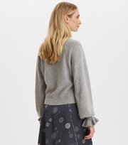 Odd Molly - A Whole Lot Of Lovely Sweater - LIGHT GREY MELANGE