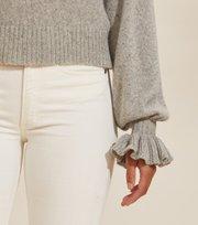 Odd Molly  - A Whole Lot Of Lovely Sweater - LIGHT GREY MELANGE
