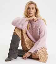 Odd Molly - Life Coordinator Sweater - ICED PINK