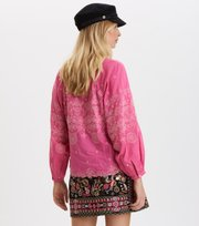 Odd Molly - Me Liberated Blouse - SPARKLING FUCHSIA