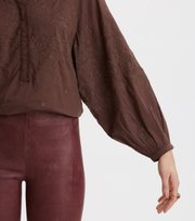 Odd Molly - Me Liberated Blouse - FRENCH BROWN