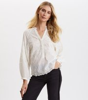 Odd Molly - Me Liberated Blouse - LIGHT CHALK