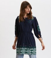 Odd Molly - Puffy Toughie Kleid - DEEP NAVY