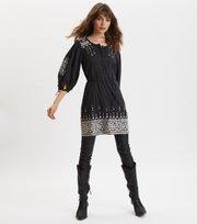 Odd Molly  - Puffy Toughie Dress - DEEP ASPHALT