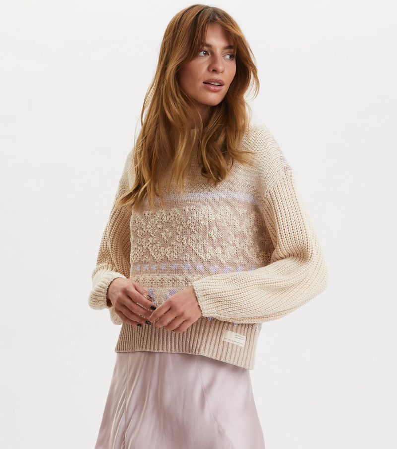 Magnetic Jacquard Sweater